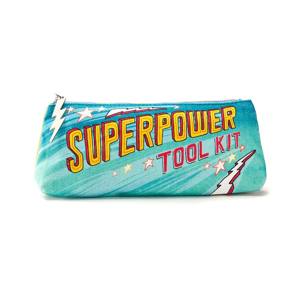 Kids' Pencil Pouch by Compendium: Superpower Tool Kit — Companion to The Superpowers! Kid's Activity Book.
