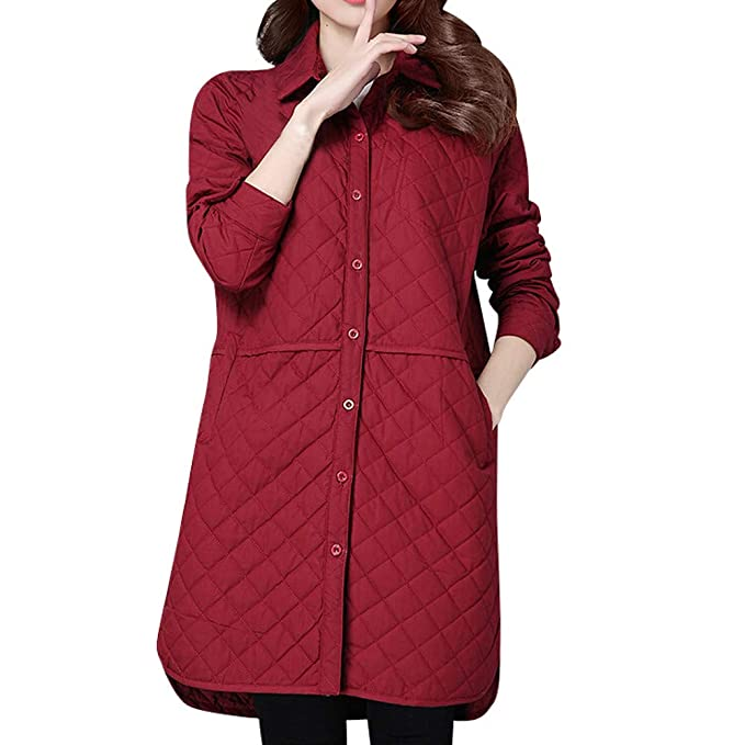 Linlink Liquidación Abrigo de otoño Moda Delgada de la Mujer de Manga Larga Plaid Capa Chaqueta Outwear Tipo Chaqueta Cardigan: Amazon.es: Ropa y accesorios