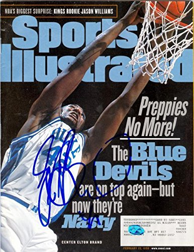 Signed Brand Photograph - DUKE Sports Illustrated Magazine - Autographed NBA Photos