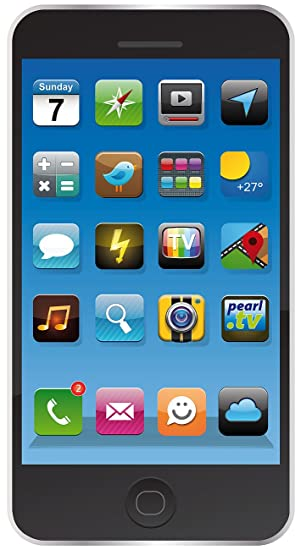 Pearl Toalla de microfibra para playa con diseño de smartphone, 170 x 100 cm, color negro: Amazon.es: Hogar