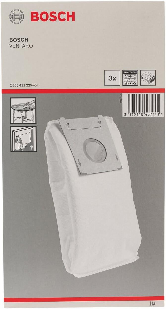 pack de 3 - Saco para polvo Bosch 2 605 411 225