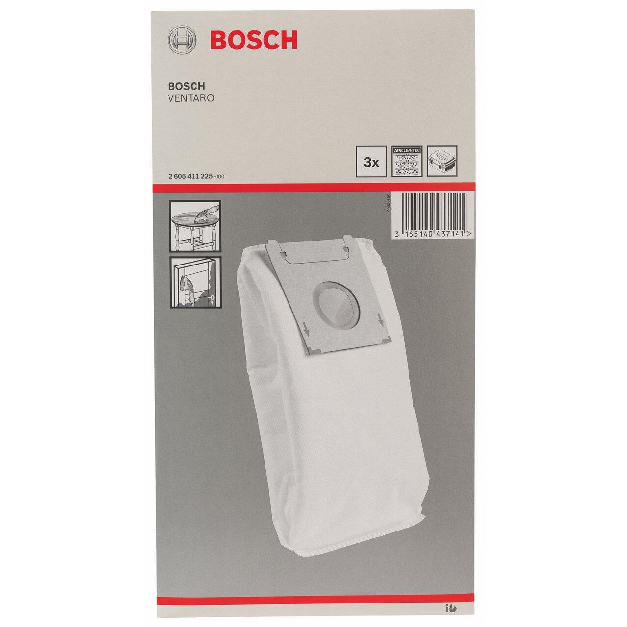 Bosch 2605411225 Sac /à poussi/ère 3 pi/èces Bosch Professional