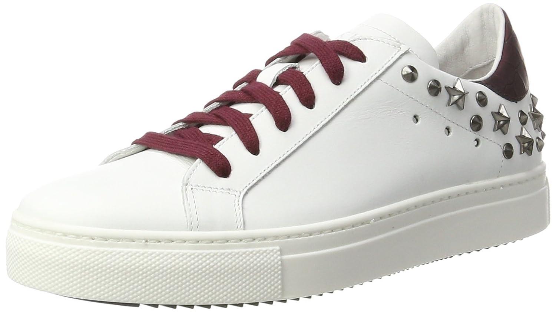 Stokton Sneaker, Zapatillas para Mujer 39 EU|Blanco (Bianco/Malva)