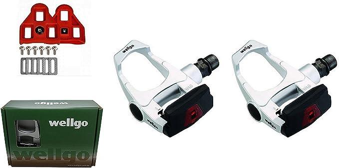 Pedales Automaticos de Aluminio para Bicicleta de Carretera SPD ...