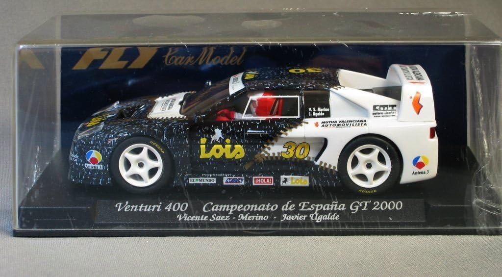 FLy Slot Car Scalextric 88036 Compatible Venturi 400 Campeonato de España GT 2000 - A242: Amazon.es: Juguetes y juegos