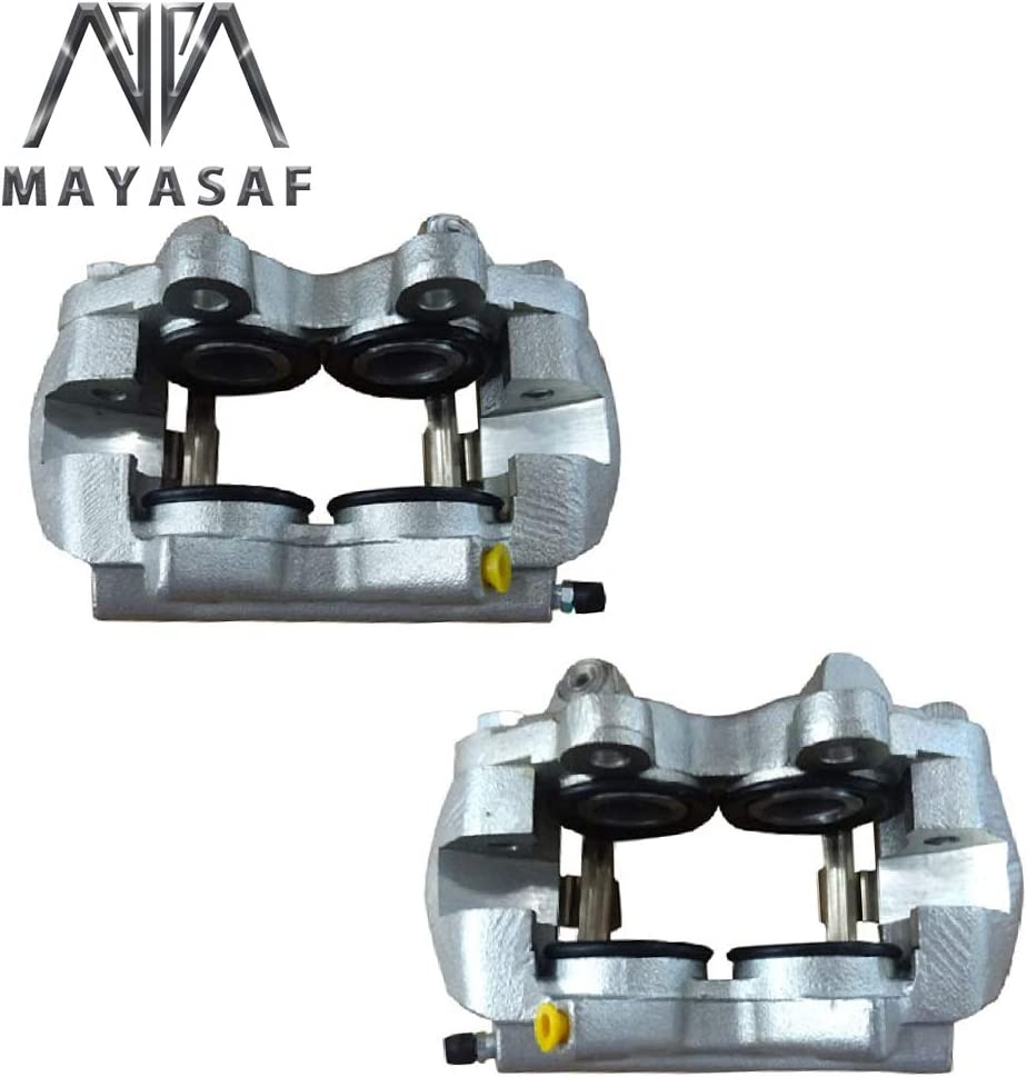 1967 Ford Falcon MAYASAF Front Brake Caliper 184404 184405 Passenger /& Driver Side Caliper Assembly 1967 Ford Fairlane 1967 Mercury Comet 1967 Ford Ranchero 1967 Ford Mustang