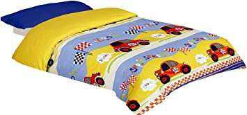 Montse Interiors Parure de lit imprim/ée Para cama de 90x190//200 Bulles