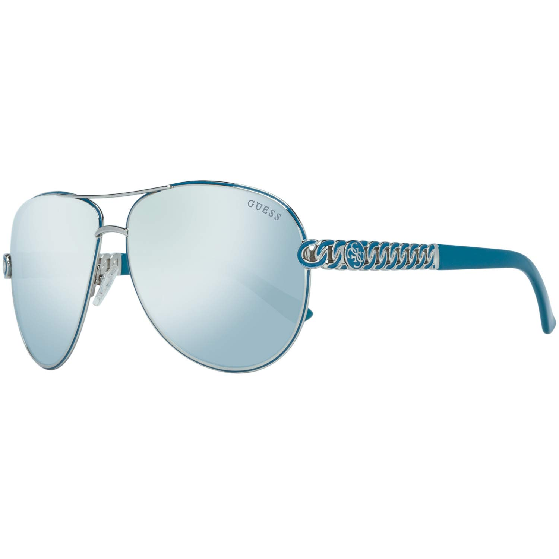 9aec82b00e Guess Womens Gold Chain Link Aviator Sunglasses  Amazon.co.uk  Clothing