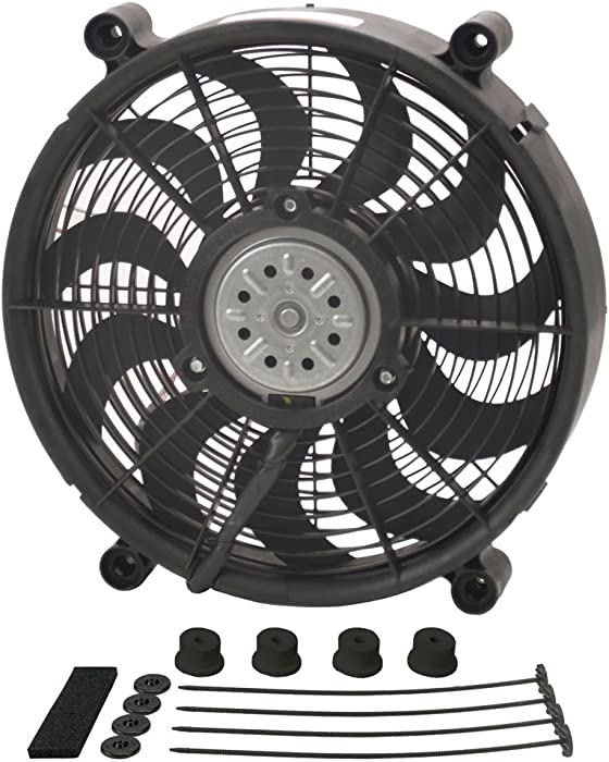 "Derale 18214 14"" High Output Radiator Fan"