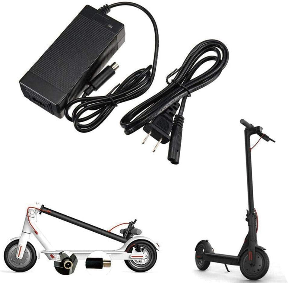 SharpointHome 42V Scooter Battery Charger for Xiaomi Mijia M365 Electric Scooter US Plug