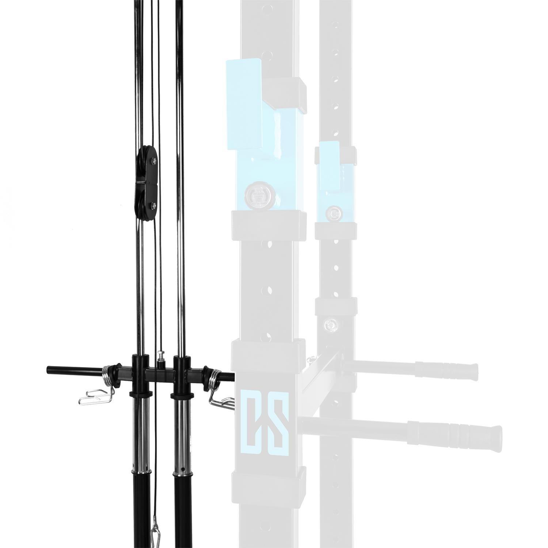 CapitalSports La Tremendour Máquina LAT Rack Ampliación Accesorio (para Montaje en los Rack tremendour, Torre lat con polea Superior e Inferior): Amazon.es: ...