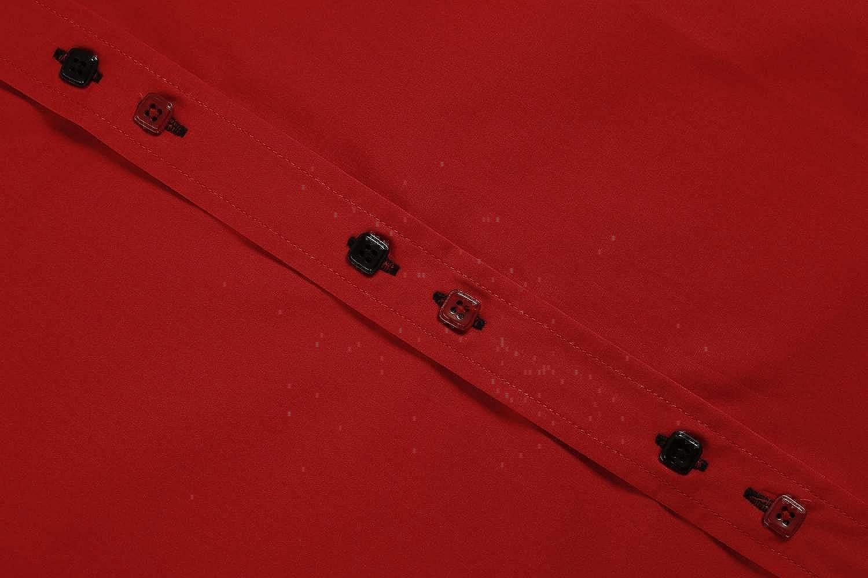 Coofandy Camicia Uomo Manica Lunga Cotone Slim Fit Coreano Casual Button Down