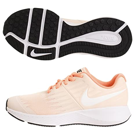 info for c9e22 52f35 NIKE Sneaker Star Runner Donna, Arancione (Orange), rosa, 35.5