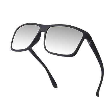 Lunettes de soleil polarisées pour hommes, carré unisexes femmes lunettes  de soleil uv400 Kennifer ( 6fe1b5ed5d72