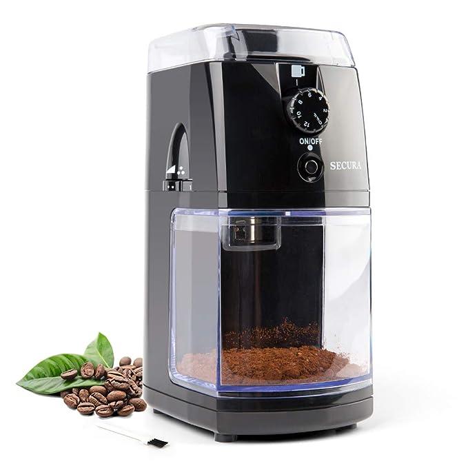 Amazon.com: Secura SCG-903B - Molinillo de café eléctrico ...