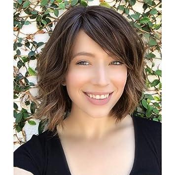 Ombre Perücke Haar Extension Kurze Haar Haarteile Haar
