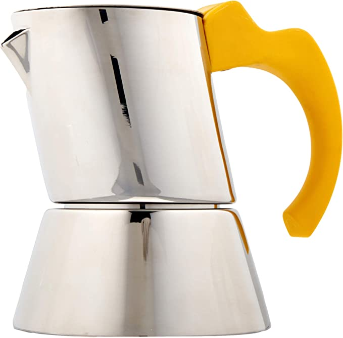 Mepra 1 3 Cup Coffee Maker Yellow Kitchen Din