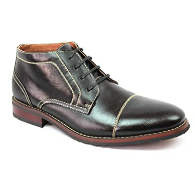 Ferro Aldo New Men's Cap Toe Dress Boots Lace up Modern 806019 | Boots