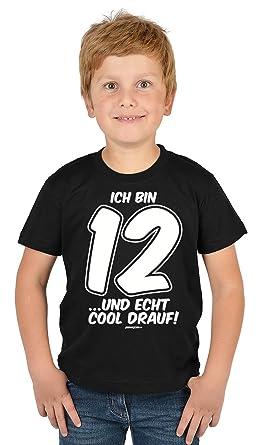Jungen 12 Geburtstag Kinder T Shirt Geschenk Kindergeburtstag 12