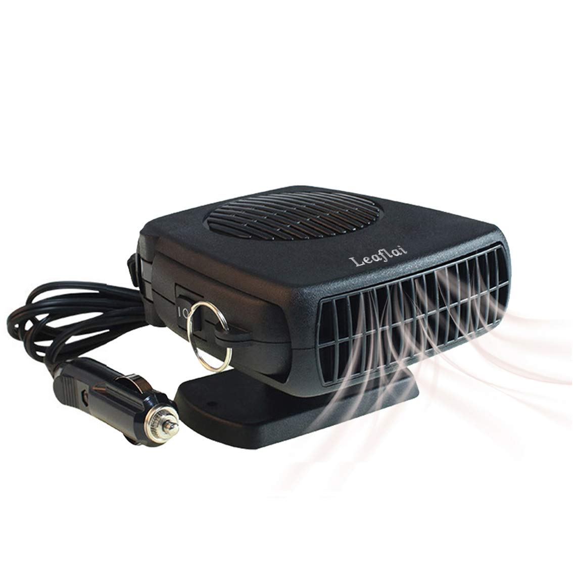[2019 New] Car Heater,12V/200W Portable Defogger,2-in-1 Windshield Demister,Vehicle windscreen Defroster,Fast Cooling Auto Mini Fan Heater,Plugs into Cigarette Lighter,Suitable for All Cars