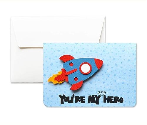 Mi superhéroe - papa - Día del Padre - tarjeta de ...