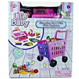 #7: Toy2U Cash Register and Shopping Cart for Kids Pretend Play Learning 52 Pieces Lights and Sound Calculator Preschool Play Kids Toy Shopping Cart, Kids Toy Cash RegisterPROMOTIONAL LIMITED TIME PRICE