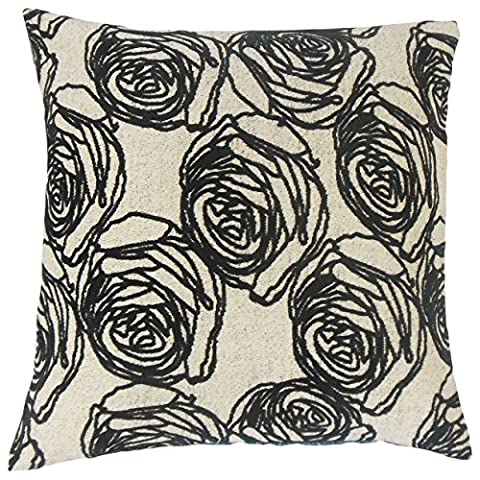 The Pillow Collection KING-MER-M9181-DOMINO-A59P30L8R3 Ilaria Floral Bedding Sham, King/20