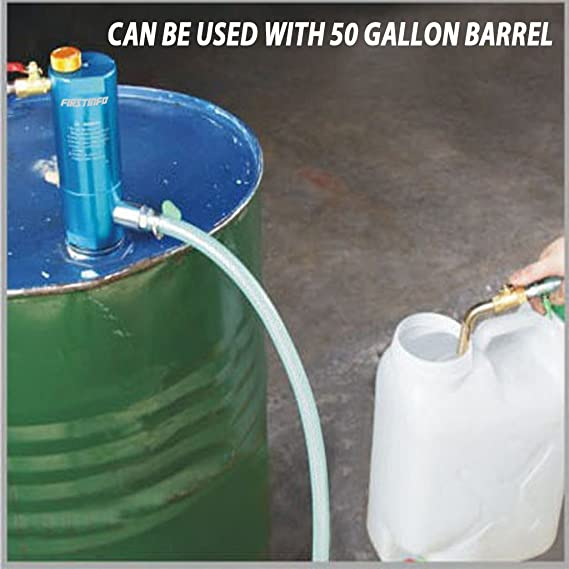 Ajuste Herramientas 50 Gallon y apertura recipiente neumático pistón aceite y líquido Extractor bomba: Amazon.es: Bricolaje y herramientas