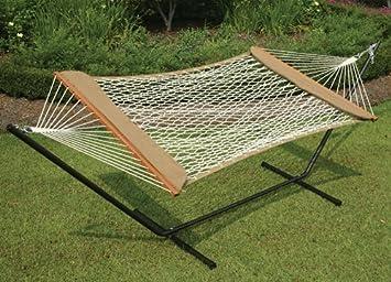 castaway hammock  u0026 stand from pawleys island amazon     castaway hammock  u0026 stand from pawleys island   garden      rh   amazon