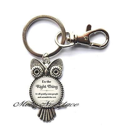Amazon.com   Charm Owl Keychain 98883f46b