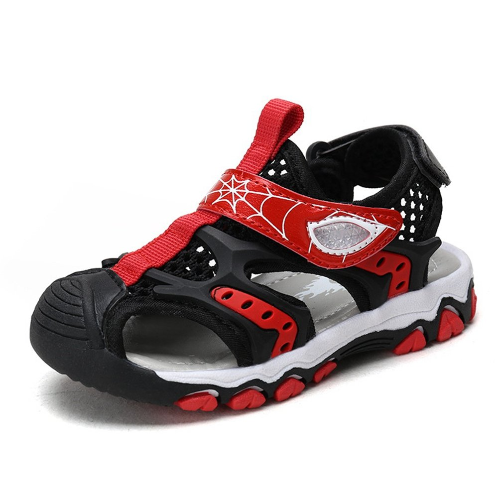 CYBLING Toddler Boys' Girls' Outdoor Sport Closed-Toe Water Sandals Kids Breathable Strap Walking Shoes