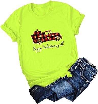 FELZ Moda Camisetas Basicas De Las Mujeres Chicas Cuello ...