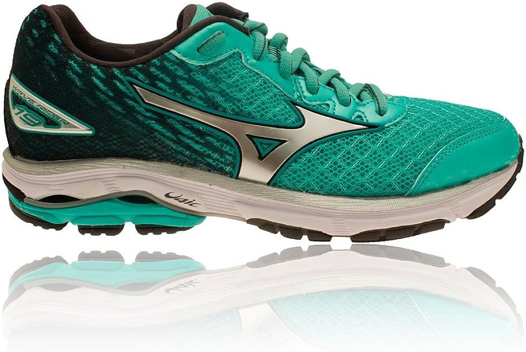 Mizuno Wave Rider 19 Womens Zapatillas para Correr - 44.6: Amazon.es: Zapatos y complementos