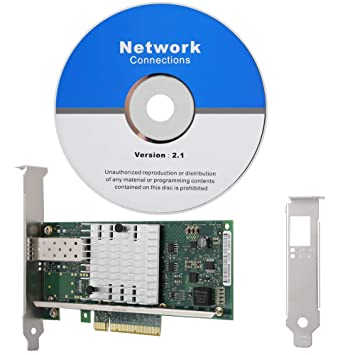 Wendry Tarjeta de Red Gigabit, para Intel X520-SR1 10G ...