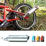 Turbospoke Bicycle Exhaust System Bicycle Exhaust Pipe System, Bike Installation Exhaust Pipe, Bike Motorcycle Sound Six Kinds Of Motorcycle Wild Sound,Cool Car Bike Accessories Toy Gifts For Kids