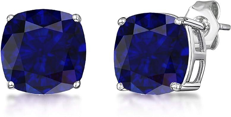 Star Sapphire /& Zircon studded 925 Earring Ring Set