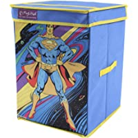 SuperMan Toys Organizer, Storage Box for Kids