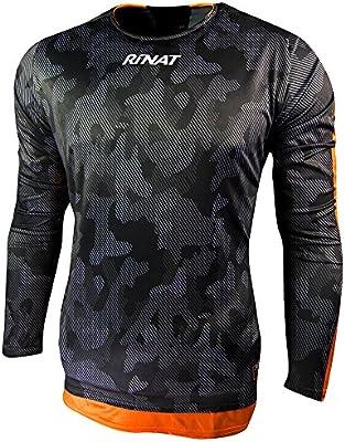 Rinat Jersey Sniper Jersey de Portero, Unisex niños, Naranja/Oxford, S: Amazon.es: Deportes y aire libre