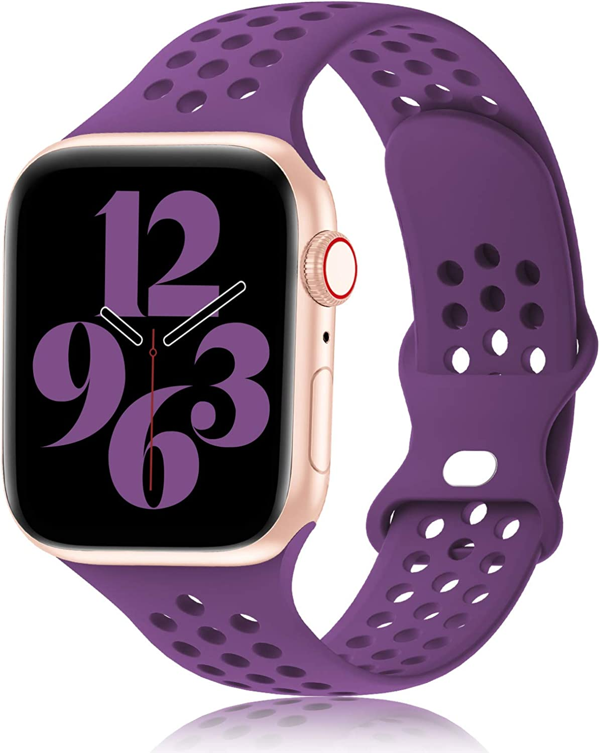 The Best Apple Iwatch Bands Purple Silicone