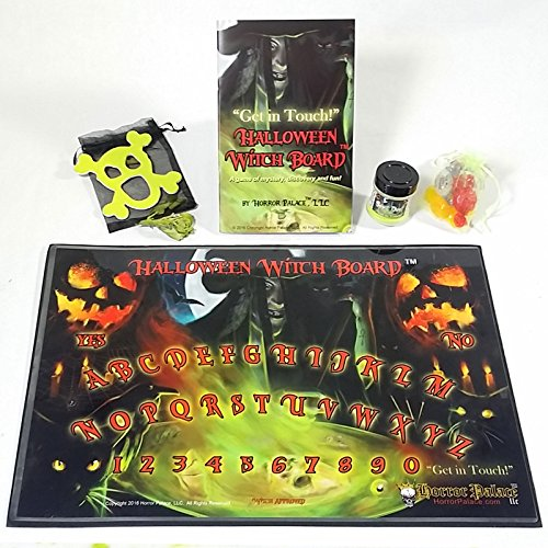Horror Palace Ouija Board Outdone! New Halloween Witch Board (TM) - Spirit Board Get In Touch!]()