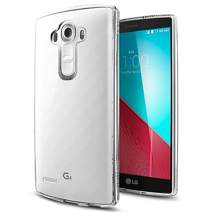 Funda Carcasa Gel Transparente para LG G4, Ultra Fina 0,33mm ...