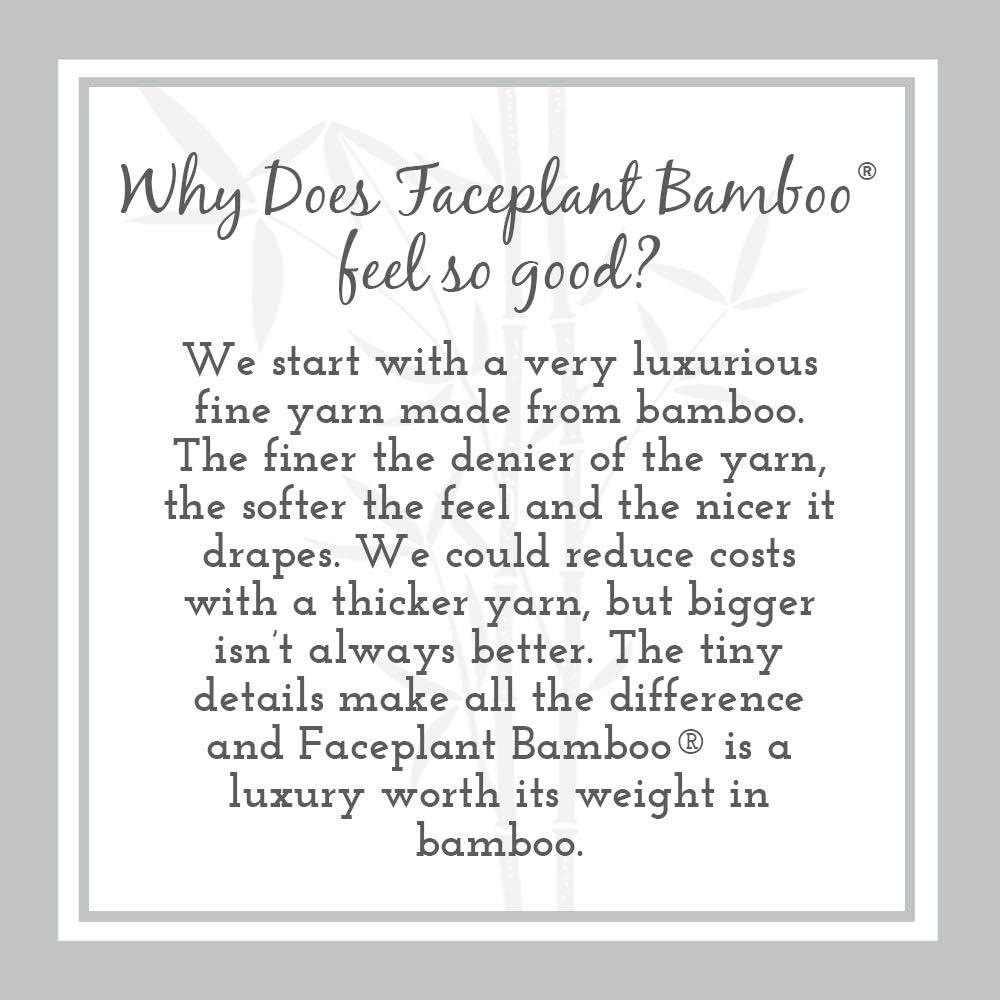 Faceplant Bamboo Relax Pajama Tank top