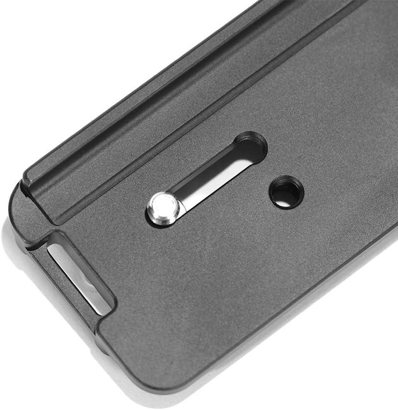 Pixco Metal External Hand Grip Camera L Plate Bracket Holder Stabilizers Quick Release Vertical External Hand Grip Suit for Sony A6500 Camera for A6500