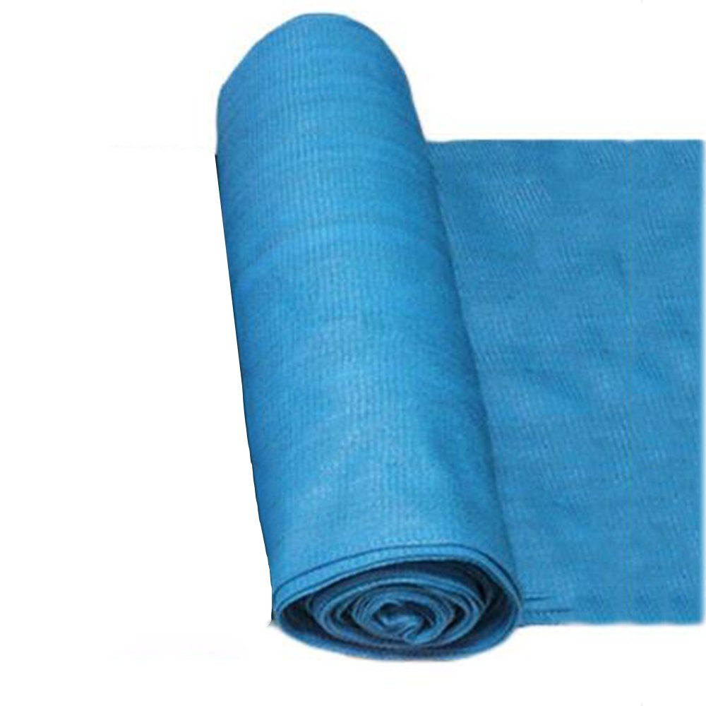 HAIZHEN シェードセイル 日焼け止めシェードクロスUVブロックシェードファブリックロール3色 屋外 (色 : Blue 3×50m, サイズ さいず : 8 pin 95%) B07FLDTF37 8 pin 95%|Blue 3×50m Blue 3×50m 8 pin 95%