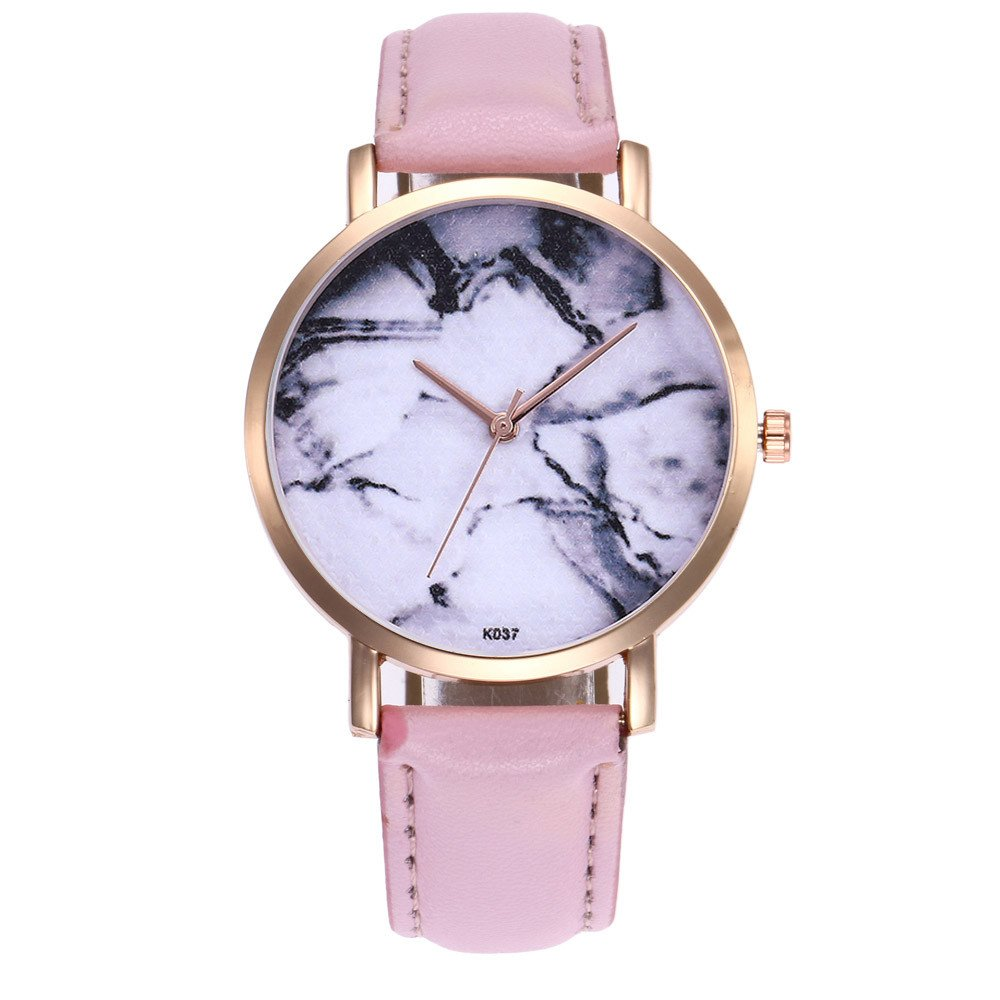 Zaidern Women Wrist Watch Womens Fashion Design Waterproof Analog Quartz Classical Round Watches Ladies Casual Simple Round Dial Leather Band Belt Wristwatch Luxury Business Retro Watches for Women