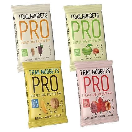 Trailnuggets PRO - Barras de energía para proteínas, paquete ...