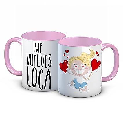 Taza Enamorados San Valentin Amor Love Novios Amistad Pasion Carino