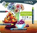 LYRA Aquacolor Water-Soluble Wax Crayons