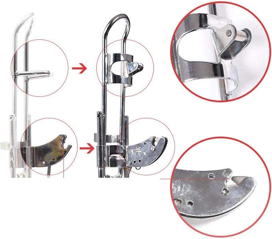 Auto Angelrutenhalter Spring Angelrutenhalter zieht Sich automatisch zur/ück wenn Fische erkannt Werden TWWT Master Fish Detector Rutenhalter
