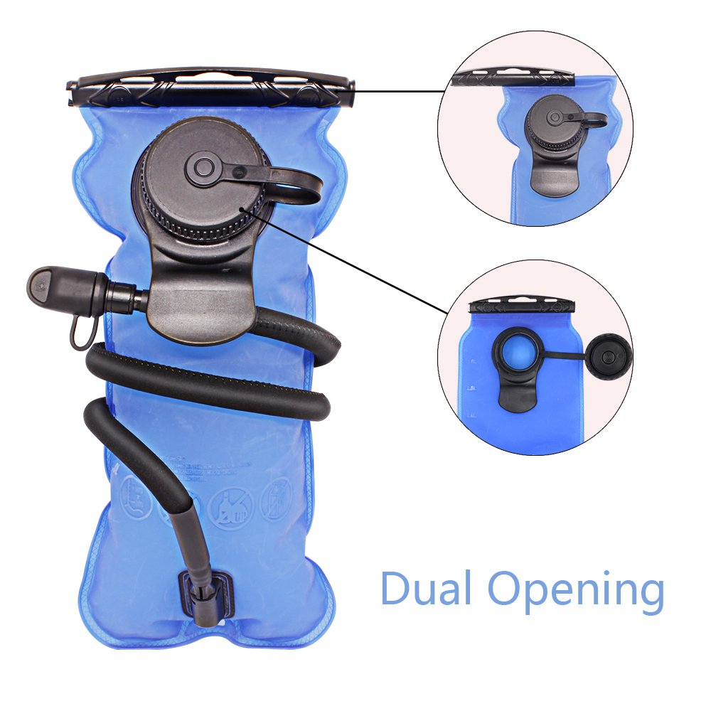 Artisanates Hydration Bladder, 3 Liter Water Bladder for Hydration Backpack, FDA Approved, BPA-Free, Dual Opening by Artisanates (Image #3)